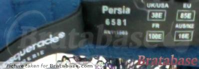 | 38E - Masquerade » Persia Non Padded Balconnet Bra (6581)