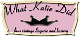 Logo for What Katie Did