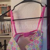 38C - Victoria's Secret » Cotton Lingerie Demi Bra (241-061)