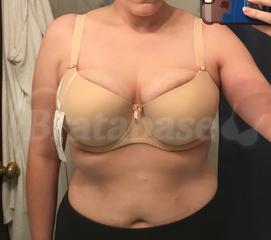 36E - Freya » Deco Moulded Half Cup Bra (4232) Wearing bra - Front shot