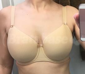Freya Idol Bra Underwire Moulded Balcony Balconnette T-Shirt Bra 1050 Nude NEW