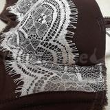 Shape & Projection of cup. Pretty eyelash lace.
