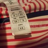 Panty label