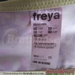 | 34FF - Freya » Lydia Moulded Plunge Bra (4404)