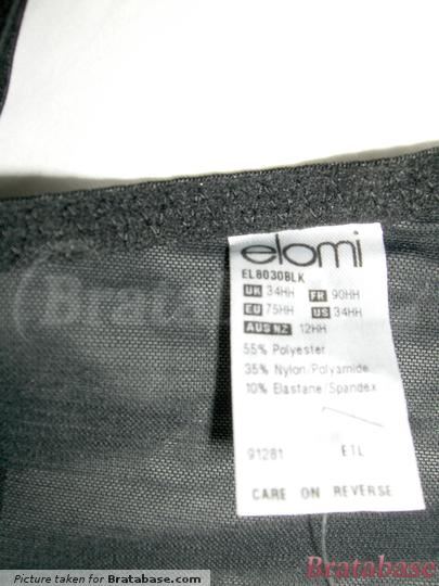 | 34HH - Elomi  » Caitlyn Underwire Side Support (8030)