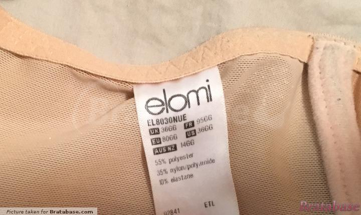   36GG - Elomi » Caitlyn Underwire Side Support (8030)