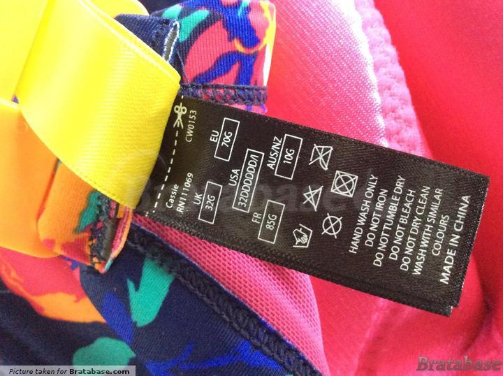 | 32G - Cleo Swimwear » Cassie Longline Padded Balconnet Bikini (