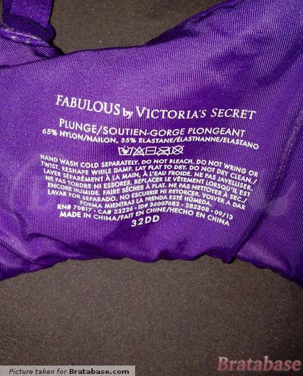 | 32DD - Victoria's Secret » Fabulous Plunge (282-308)