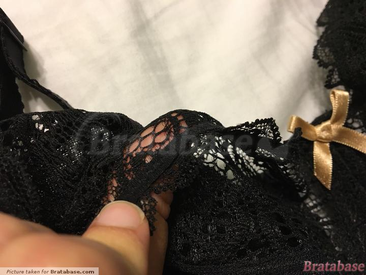 Elastic along the edge of the stretch lace   34G - Curvy Kate » Ellace Balcony Bra (CK4401)