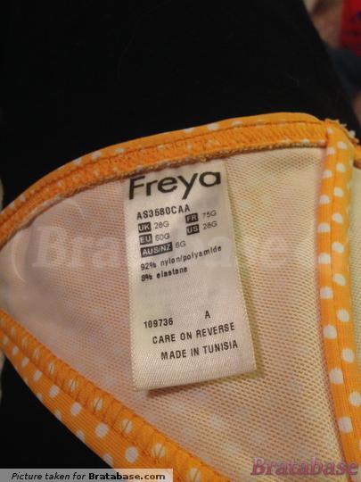 | 28G - Freya Swim » Sunset Boulevard Banded Halter Bikini Top (3