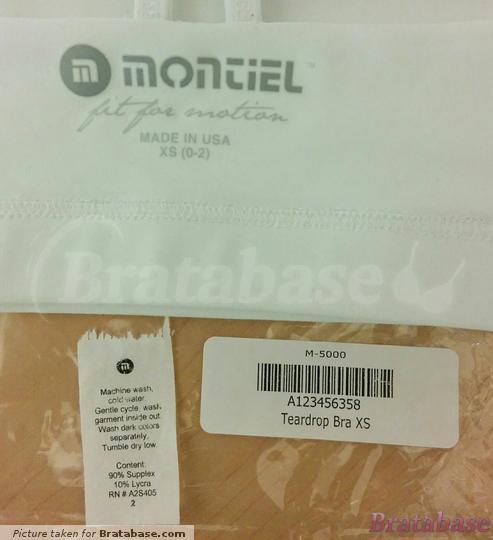 | XS - Montiel » Teardrop Bra (M-5000)