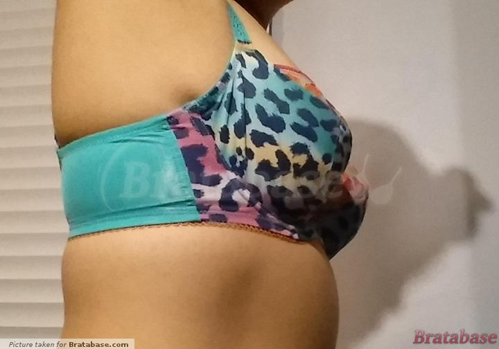 Wire pokes... cup too small? | 32DD - Cleo » Maya Balconnet Bra (7471)