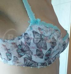30E - Freya » Martha Padded Half Cup Bra (1303) Wearing bra - Side view