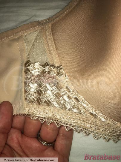 Detail beside cup/wing- geometric lace design   32GG - Fantasie » Rebecca Spacer Moulded Bra (2024)