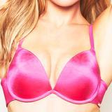 Omg Plunge Bra Hot Pink (3477)