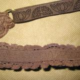 lace covered strap