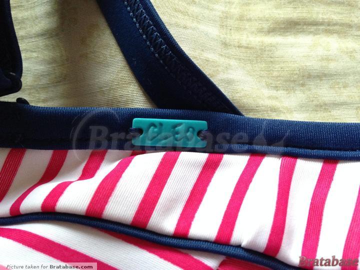Cleo charm | 28E - Cleo Swimwear » Lucille Padded Bandeau Bikini (CW0063)