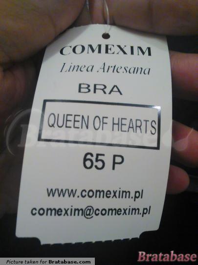 | 65P - Comexim » Queen Of Hearts Plunge Bra (367)