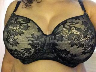 36G - Panache » Idina Moulded T-shirt Bra (6968) Wearing bra - Front shot
