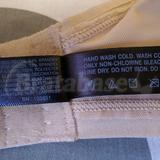 Wash/care instructions & materials. No wonder it's so comfy, 37% spandex. lol