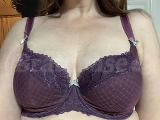 75F - Ewa Michalak » Sf Trapez (908) Wearing bra - Front shot