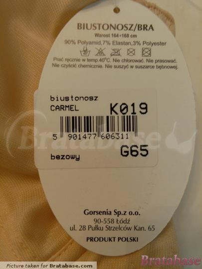   65G - Gorsenia » Carmel Soft Underwire Bra (K019)