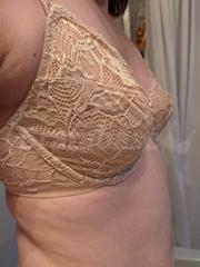 34D - Bali » Lace Desire Underwire (6543) Wearing bra - Side view