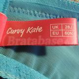 Curvy Kate Emily Aqua/Ivory 28J