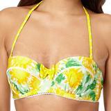 Yellow Sunflower Bikini Top (0640206419)