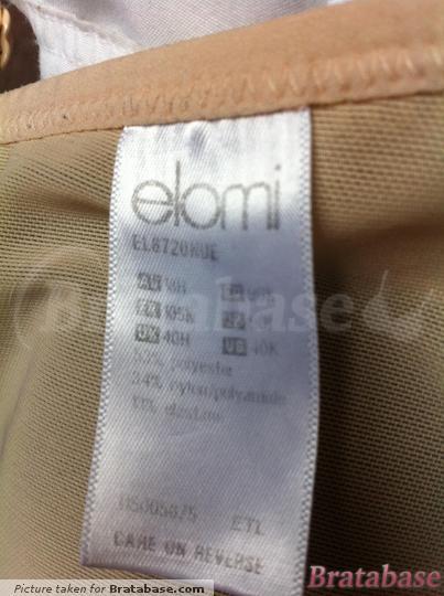 | 40H - Elomi » Bijou Banded Moulded Bra (8720)