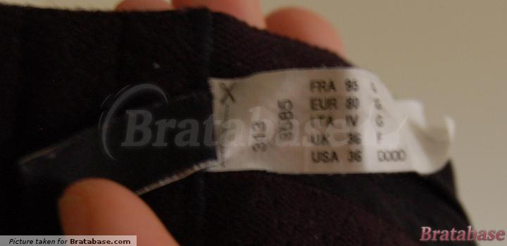 80G Sizes sewn-in label    80G - Chantelle » C Chic Sexy Spacer Bra (3585)
