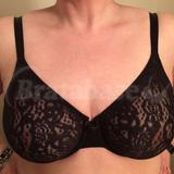 36DD - Wacoal » Halo Lace Seamless Underwire (65149)