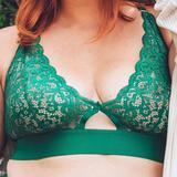 Julisa Bralette Green