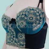 note -- I had a custom alteration to convert this bra into a longline.