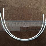 Underwire - wider, silver wire is Kler