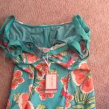 28F - Full-filled » Green Floral Tankini Top (5050570168650)