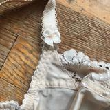 Close up of strap alteration