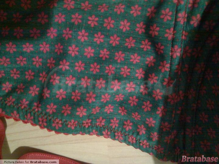 Fabric/pattern, accurate colour | 80H - Comexim » Poppies Biustonosz (313)