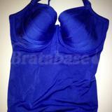 Azure Padded Halter Swimsuit (PM-1129)