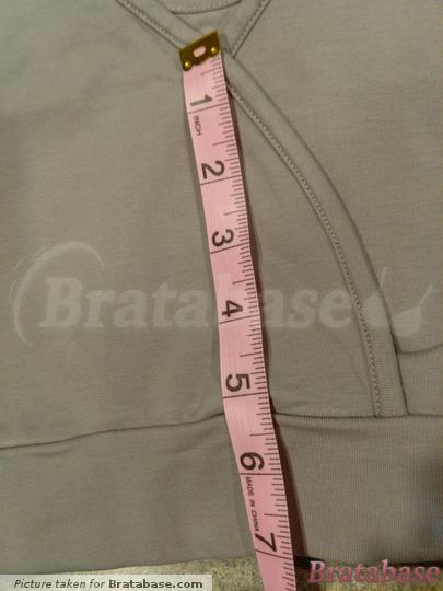 Gore height is approximately 7"