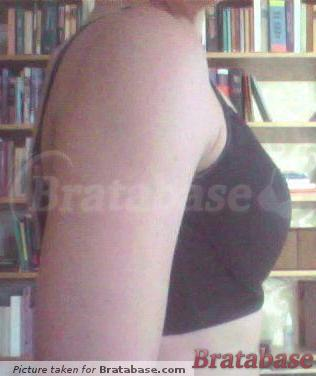 Braologie Posture-Contour Casual Black, right side | 28E - Braologie » Posture-contour Bra Casual