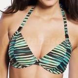 Illusion Bandless Triangle Bikini Top (3129)