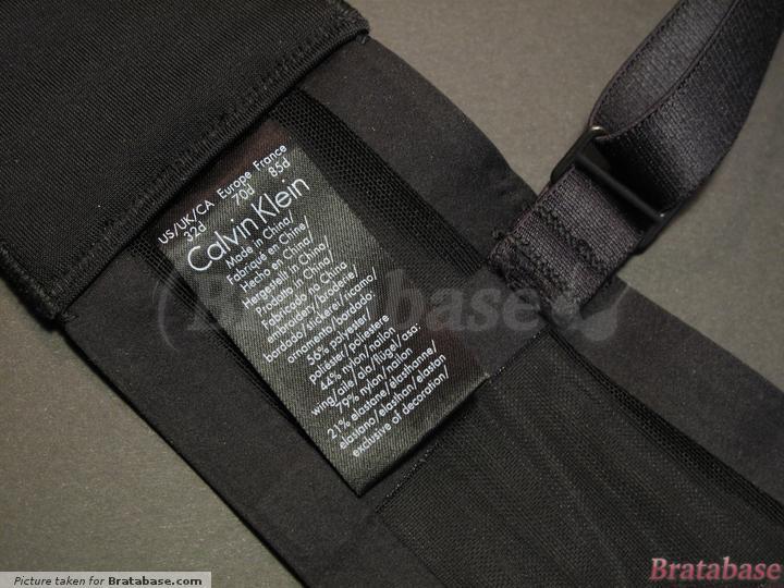| 32D - Calvin Klein » Black Shadow Longline Plunge (F3790)