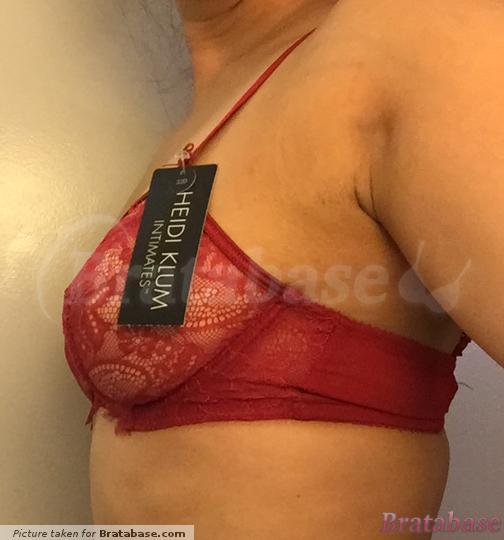 Beautiful bra but inadequate support | 32D - Heidi Klum Intimates » Valerie Underwire (H20-1124)