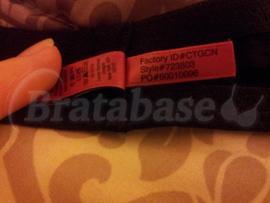 34DD - Betsey Johnson Intimates » Stocking Stripe Lightly Lined