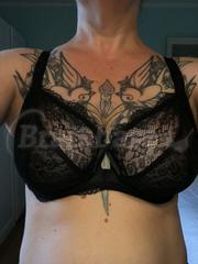 32FF - Freya » Fancies Plunge Bra (1011) Wearing bra - Front shot