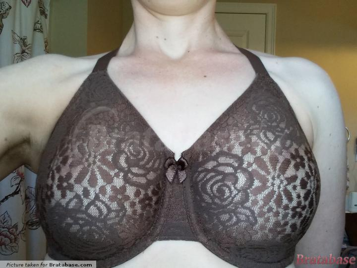 Natural light | 32G - Wacoal » Halo Lace Underwire Bra (851205)