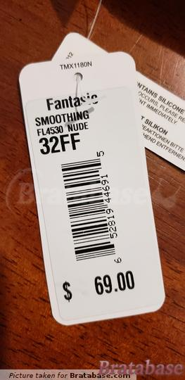 | 32FF - Fantasie » Smoothing Moulded Strapless Bra (4530)