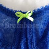Lime green gore bow
