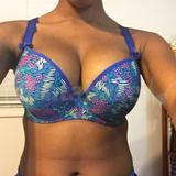 Front side of bra